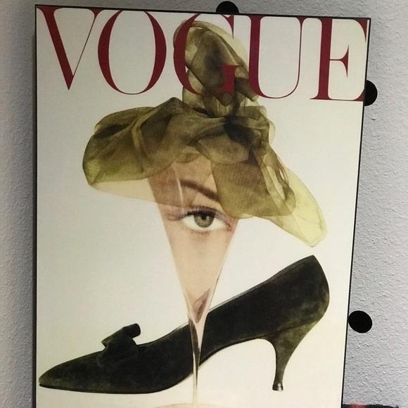 Vogue Other - Vogue Magazine surrealist Cover Wood Art 16x20